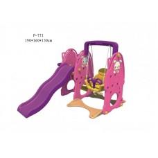 Детский игровой комплекс FAMILY Зайчата F-771