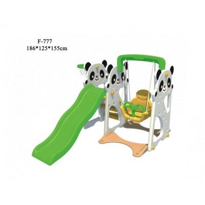 Детский игровой комплекс FAMILY Панды F-777
