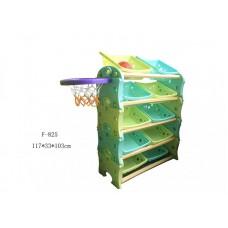 Этажерка- трансформер с баскетбольным кольцом F-825