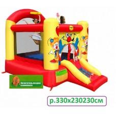 Надувной батут  Happy Hop Забавный клоун 9304Y