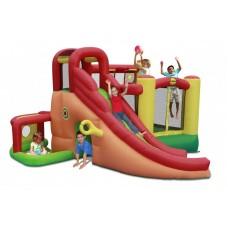 Надувной батут с горкой Happy Hop Игровой центр 11 в 1 9406N
