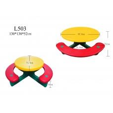 Столик с лавочками Lerado Пикник L-503