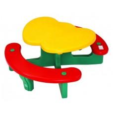 Столик с лавочками Lerado Яблочко LА-612