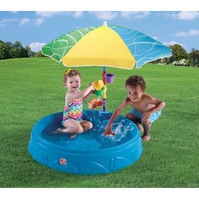 Бассейн для малышей с зонтом Step2 арт.716000