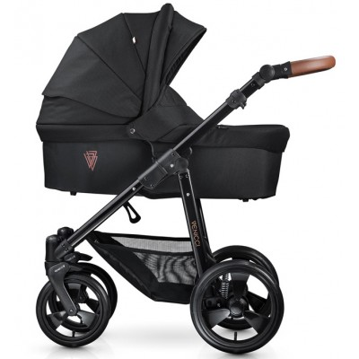 Детская коляска 2 в 1 Venicci Gusto Black