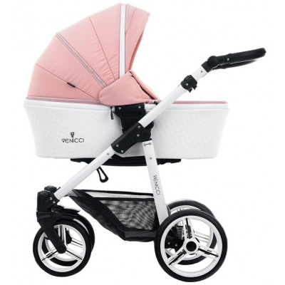 Детская коляска 2 в 1 Venicci Pure Rose